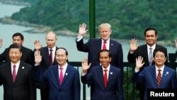Các lãnh đạo thế giới dự APEC ở Đà Nẵng cuối năm 2017.