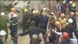 Việt Nam giải cứu 12 công nhân trong vụ sập hầm thủy điện