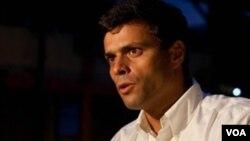 La CIDH, afirmó que el Estado venezolano violó los derechos políticos del ex alcalde de Chacao, Leopoldo López.