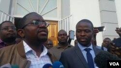 Lead lawyer Thabani Mpofu