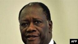 Ông Alassane Ouattara được LHQ và Liên hiệp châu Phi công nhận là đã thắng trong cuộc bầu cử Tổng thống hồi tháng 11 năm ngoái