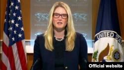 """Phát ngôn viên Bộ Ngoại giao Marie Harf nói Hoa Kỳ không hề gây bất ổn ở Biển Đông. """"Chính những hành vi hung hãn của Trung Quốc đã gây ra bất ổn""""."""