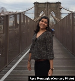Aylin Uyar, 21, is Turkish-American.