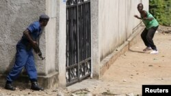 Enfrentamientos en Burundi.