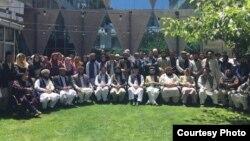 Konferensi Tahunan NU-Afghanistan di Kabul, 11 Agustus 2018, dihadiri ulama dari beragam kelompok dan faksi, serta beberapa wakil dari Nadhlatul Ulama. (Courtesy: KBRI Kabul, Afghanistan)