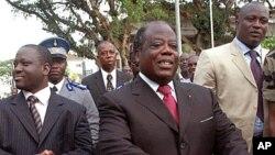 L'opposant, ancien Premier ministre et candidat à la présidentielle du 25 octobre 2015, Charles Konan Banny