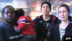 Một số cư dân đã rời Nhật để đến Mỹ vì lo ngại tình trạng khủng hoảng hạt nhân hiện nay