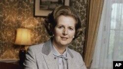 '철의 여인'으로 불린 마가렛 대처 전 영국 총리가 8일 87살의 나이로 서거했다. 사진은 1980년 총리 재임 시절.