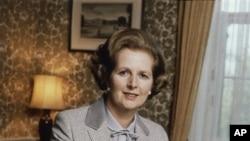 Bivša britanska premijerka Margaret Tačer