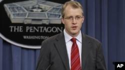 """Juru bicara Pentagon, George Little mengatakan bahwa buku """"No Easy Day"""" soal penyerbuan Bin Laden memuat informasi rahasia militer AS (foto: dok)."""