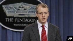 美国国防部发言人利特尔(资料照片)
