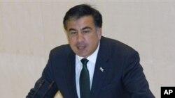 Михаил Саакашвили. Архивное фото, октябрь 2012 года