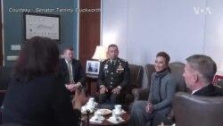 ผบ.ทหารบก หารือ ส.ว.สหรัฐฯ 'แทมมี ดักเวิร์ธ' ที่วอชิงตัน
