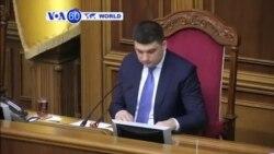 VOA60 Duniya: Kasar Ukraine Takara Daukar Matakin Zama Memba a Kungiyar NATO, Ukraine, Disamba 23, 2014