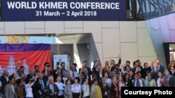 Cambodians gathered to participate in the World Khmer Conference held in Melbourne, Australia, from March 31 to April 2, 2018. (Courtesy photo)