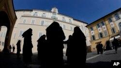 Para biarawati di bagian selatan Roma. (Foto: Ilustrasi)