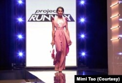 Mimi Tao from Thailand became the first transgender model featured in popular reality show, Project Runway, season 17.