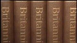 2012-03-14 美國之音視頻新聞: 大英百科全書全部改為網絡版
