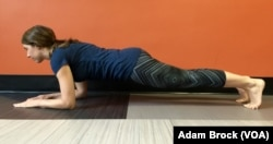 This is the easy version of the Plank Pose.