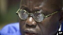 Le nouveau président ghanéen Nana Akufo-Addo. (Photo du 6 décembre 2012).