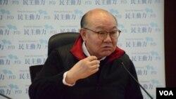 香港特首參選人胡國興 (美國之音湯惠芸拍攝)