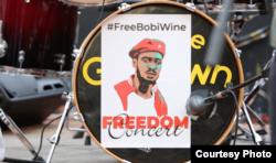 Onyesho la Muziki lakushinikiza kuachiwa Bobi Wine Nairobi Kenya.