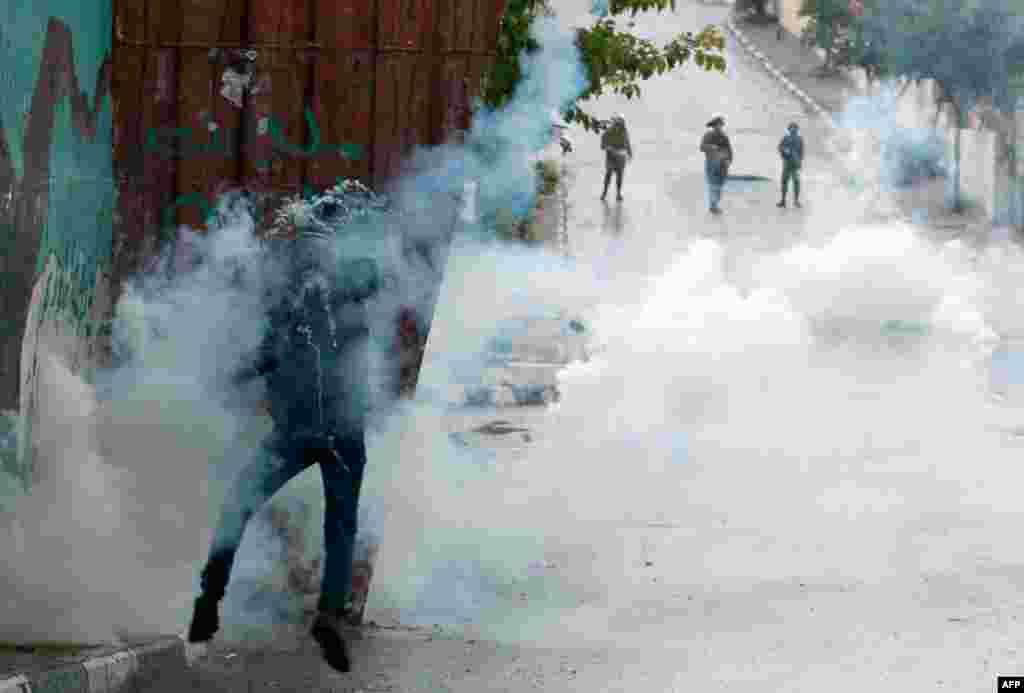Fələstinlilərlə İsrail ordusu arasında qarşıdurma