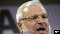 Ông Aziz Dweik, chủ tịch quốc hội Palestine