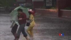 """2014-07-16 美國之音視頻新聞: 颱風""""威馬遜""""侵襲菲律賓"""