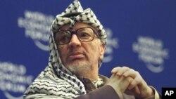 Mantan pemimpin Palestina, Yasser Arafat meninggal di sebuah rumah sakit di Perancis tahun 2004 (foto: dok).