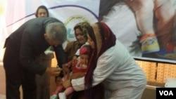 وزیر صحت عامه گفت که این واکسین درسرتاسر افغانستان به اطفال زیر سن یکسال به صورت مجانی تطبیق میگردد.