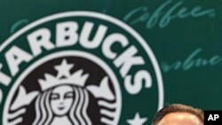 Starbucks CEO Howard Schultz (file photo)