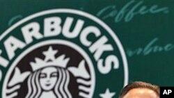 Starbucks CEO Howard Schultz (file photo)