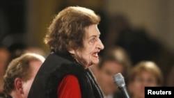 海倫‧湯馬斯終年92歲(資料圖片)