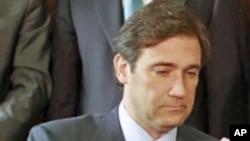 Primeiro-ministro português Pedro Passos Coelho