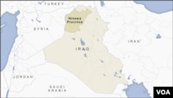 Provinsi Ninewa, Irak.