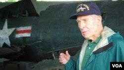 지난 7월 6.25 전쟁 중 사망한 전우의 유해를 찾기 위해 북한을 방문한 토머스 허드너 씨.