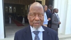 Joaquim Chissano diz que reivindicações da Junta Militar da Renamo precisam de análise profunda