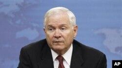美国国防部长罗伯特.盖茨(资料照片)