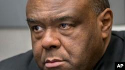 L'ancien vice-président congolais Jean-Pierre Bemba reconnu coupable des meurtres et des viols commis par sa milice en Centrafrique en 2002 et 2003, La Haye, Pays-Bas, 21 mars 2016