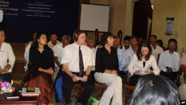 A civil society organizations' meeting in Phnom Penh.