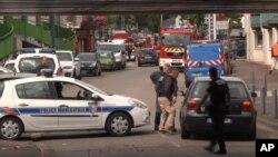 Imagens da operação policial