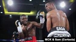 Lutador da categoria Peso Meio-Médio Cristiano Ndombassy