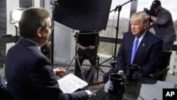 """Entrevista emitida en la cadena de televisión Fox News. Durante más de cuatro décadas, Estados Unidos ha basado sus relaciones con el gigante asiático en el principio de una """"sola China""""."""