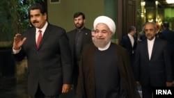 President of Venezuela visits Iran, Meets Rouhani, مادورو رئیس جمهوری ونزوئلا در سفر به تهران با حسن روحانی دیدار کرد