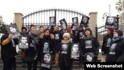 Norveç İnsan Hüquqları Evi Ukraynada Azərbaycan hüquq müdafiəçilərinə dəstək aksiyası keçirib