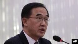 چو میونگ گیونگ وزیر وحدت کره جنوبی - آرشیو