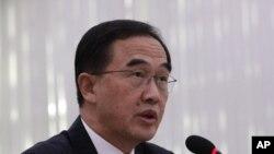 Bộ trưởng Thống nhất Hàn Quốc Cho Myoung-gyon