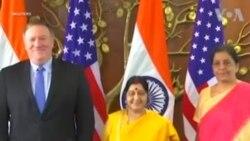 NO COMMENT: ԱՄՆ-ը եւ Հնդկաստանը ստորագրեցին ռազմական պայմանագիր