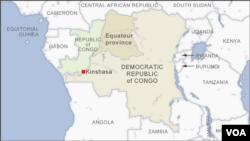 Equateur province, DRC